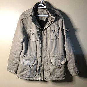 LL bean authentic issue heavy canvas lined jacket